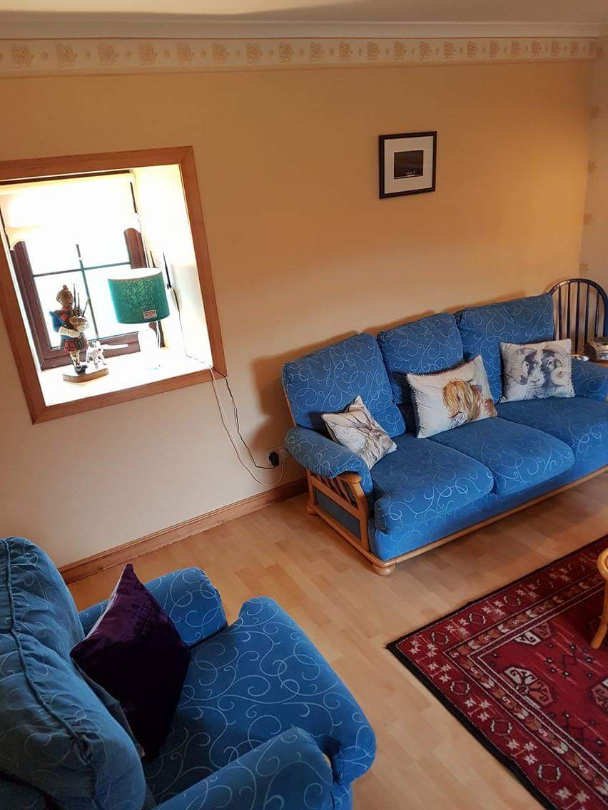 Vallay House Sitting Room 1