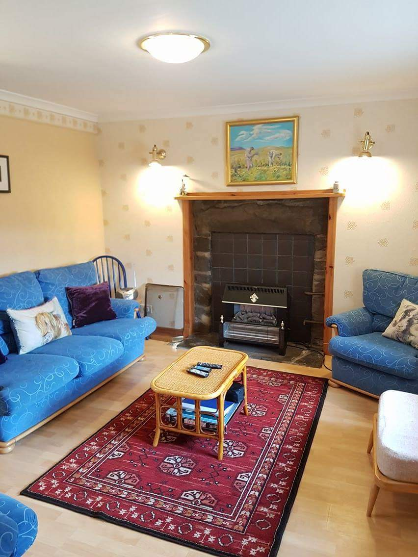 Vallay House Sitting Room 2