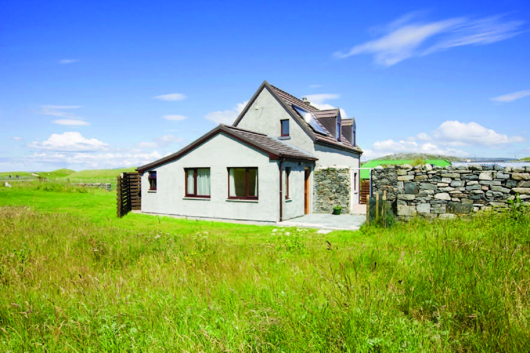Vallay House 4 star self catering on the Isle of Harris