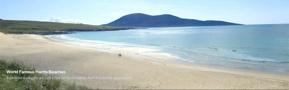 Sandy Beach, Borvemor, Isle Of Harris, Western Isles