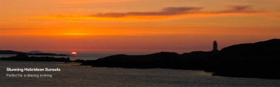 Hebridean Sunset, Isle Of Harris